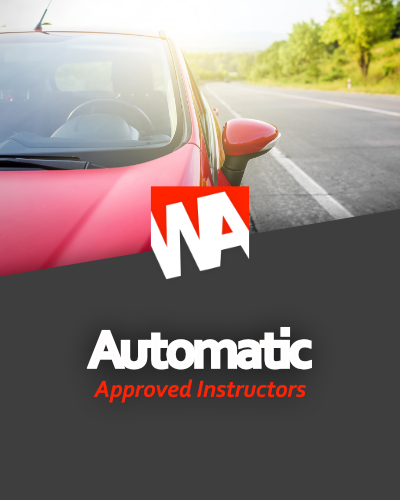 driving instructors for automatic car lessons